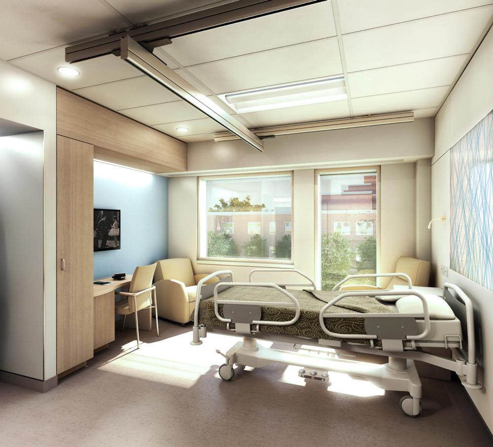Patient Rooms Brockville District Hospital Foundation
